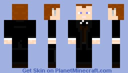 Holographic Professor James Moriarty Minecraft Skin