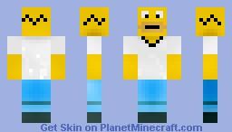 Homer Simpson- Redone Minecraft Skin