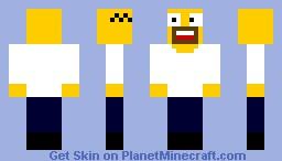 Homer Simpsons Minecraft Skin