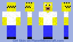Homer Simpson Minecraft Skin