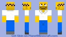 Homer Minecraft Skin