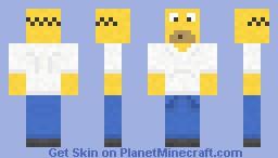 Homer Simpson! Minecraft Skin