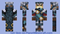 Honorable General - Scrolls Minecraft Skin