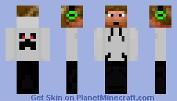 Hoodie Dude Minecraft Skin