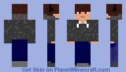 Hoodie + Headphones Minecraft Skin