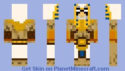 Horus, God of the Sky Minecraft Skin