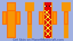 Hot Dog Minecraft Skin