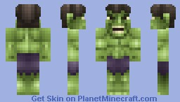 The Incredible Hulk Minecraft Skin
