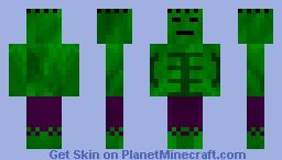 Hulk Redone [HD] Minecraft Skin