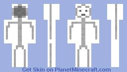 Dale the Stickfigure Minecraft Skin