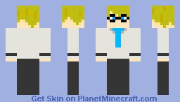 Human Wheatley Minecraft Skin