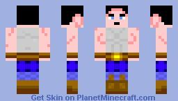 Human miner Minecraft Skin