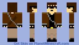 Java (HUNGER GAMES) Minecraft Skin