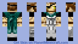 Hunter Dragon Slayer Minecraft Skin