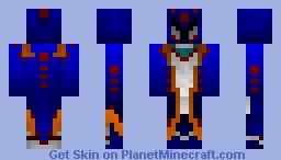 MH3 - Lagiacrus Armor (3D Head) Minecraft Skin