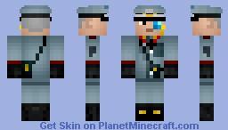 General Hunz von Beck (200 downloads special) Minecraft Skin