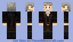 John Hurt as the Doctor? Minecraft Skin