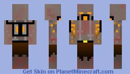 Killing Floor - Husk [3D gas mask] Minecraft Skin