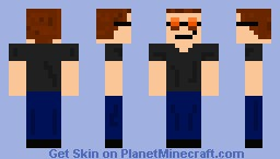 Hyde (That 70s Show) (Better In Preview) Minecraft Skin