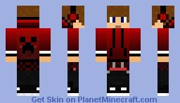 creeper jacket Minecraft Skin