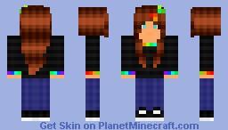 Bit.Trip Runner :D (NEW SHADING!) Minecraft Skin