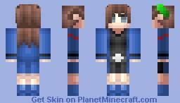 Choujigen Game Neptune - IF Minecraft Skin