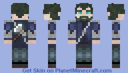 Bearded Axeman Minecraft Skin