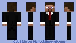 Steve with a suit