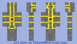 Energy Knight Minecraft Skin