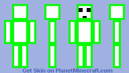 Slime Green Minecraft Skin