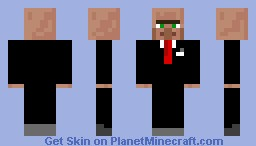 Mr. Testeficate! Minecraft Skin