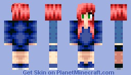 Reah Read Girl [I am sorry for not posting skins!] Minecraft Skin