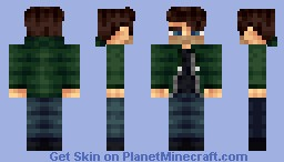 Ian Hecox [UPDATED] Minecraft Skin