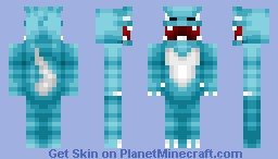 Glace the Ice Monster Minecraft Skin
