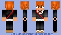 Ichigo Kurosaki V2 (Fullbring x Shinigami) Minecraft Skin