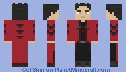 Iden - Crimson Knight Outfit Minecraft Skin