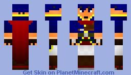 Ike (Fire Emblem) [Contest] 3D Features Minecraft Skin