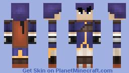 Ike from Fire Emblem Minecraft Skin