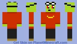 My Immortal Fool - Fawful Minecraft Skin