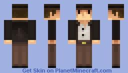 Indiana Jones Minecraft Skin