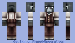 Sophisticated Gorilla Minecraft Skin