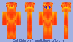 Inferno Sprite Minecraft Skin