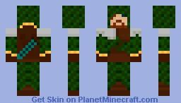 Forest Ranger Minecraft Skin