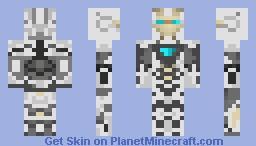 Iron Man 3 Minecraft Skin