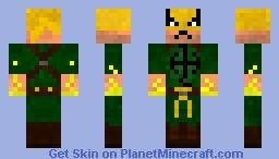 Iron Fist WWII Minecraft Skin