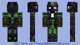 Ironman 3 Mark 26 (Gamma) Minecraft Skin