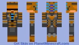 Dead Space - Isaac Clarke Minecraft Skin