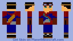 MTG Izzet Mage-Argonius The Experimenter Minecraft Skin