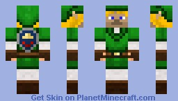Legend of Steve Minecraft Skin