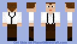 Jack Dawson [Titanic] [Contest] [3D hair] Minecraft Skin
